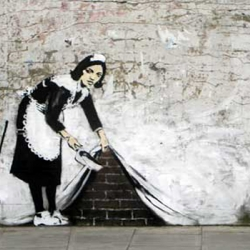 Free Banksy Art now available!!! He goes against eBay piratry!! Nice!