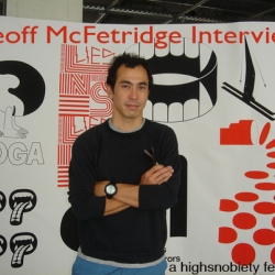 Interesting interview with artist Geoff McFetridge before his upcoming solo show in the Netherlands!