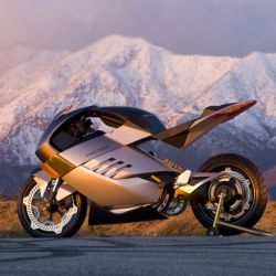 R MOTO: One of a kind all electric Superbike for eco riders of tomorrow.