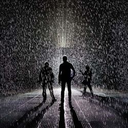 The amazing immersive and interactive Rain Room is now at MoMA in NYC through July 28, 2013.