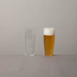 Hand blown beer glasses - our new collaboration with Shotoku Glass in Tokyo, part of Reiko Kaneko's new Japan store collection.