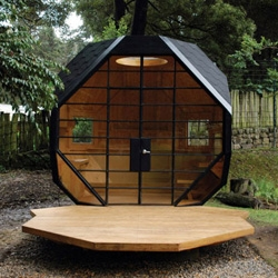 Polyhedron Habitable, this small little space was designed by Colombian architect Manuel Villa in Bogota, Colombia.