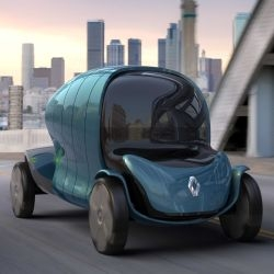 Thomas Felix Renault Kidma concept is a mobility system that suits the humanist aspirations of the city as well as its willingness to protect environment.