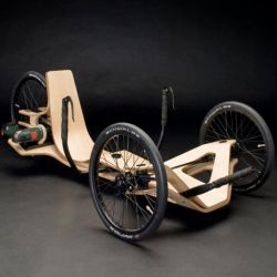 Rennholz gives new meaning to sustainably built vehicles.