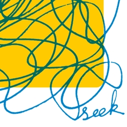 "New ""SEEK (out)"" poster from Right Brain Terrain...