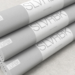 The SLVRBK Mat, the next generation yoga and exercise mat.