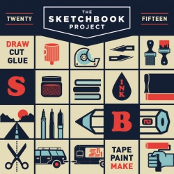 Brooklyn Based Two Arms Inc. designed the 2015 Sketchbook Project branding!