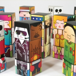 Undoboy produced, designed, illustrated and produced their first designer toy. This series come with 16 toys and 64 characters in total.