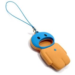 Protect those easy to loose SD memory cards by letting this chap eat them - thus keeping them safe, clean and dust free whilst out and about.