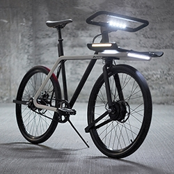 "TEAGUE X Sizemore's DENNY bike is the ""all in"" cycling solution that meets security, safety and importantly convenience needs. DENNY was born from a simple premise, 'an everyday bike that removes the barriers to becoming an everyday rider'."