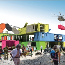 SEED Container Housing for Haiti relief in Fast Company.