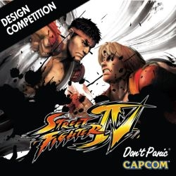 Competition to redesign a character from Street Fighter IV for an official fan art poster. Win a PS3, SFIV and other Capcom games, as well as having 100,000 free copies of your design printed and distributed.