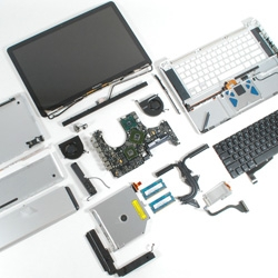 """Nice teardown of the new MacBook and MacBook Pro by iFixit, who says """"This may be the most beautiful laptop we've disassembled."""""""