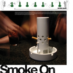 Smoker Kerplunk! Objects that explore the playful side of smoking in the wake of smoking bans across the UK