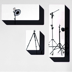 'Slide' Mirrors by Sylvain Willenz produced by  SCP UK are based on a simple graphic drawing, which plays with reflection, perception and depth.