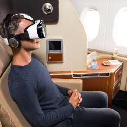 Qantas and Samsung introduce Virtual Reality experience for travelers.