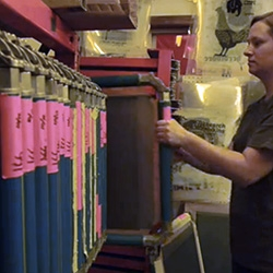 Inside Portland's eco-friendly /quality-focused screen printing shop, Ink Brigade.