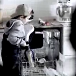 Clever ad for Miele Dishwashers! I wish I would have been smart like this kid!