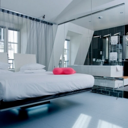 The Latest addition to Murano Resorts is The Kube Hotel in Paris with a 1960's Sci-Fi concept.