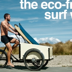 Boxcycles come to the US — perfect for toting surfboards, groceries, or kids!