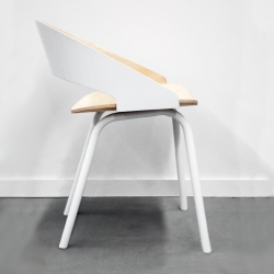 E2 is a chair designed and hand-crafted by Nicholas Ozemba.