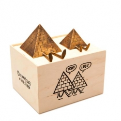 "CASE STUDYO x KEVIN LYONS ""True & Lulu - The Pyramids"" Sculpture"