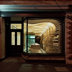 Fabio Ongarato Design (FOD) collaborated with artisan bread maker Daniel Chirico to create a new store and new branding for Baker D. Chirico in Australia.
