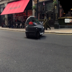 Experiments in the streets of London using the panoramic settings of an iPhone. By Gustavo Luz Sousa and kilo collective.