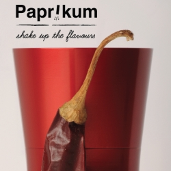 Papr!kum spice mortar to grind any kind of dried spices in a unique way.