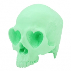 Ron English's Popaganda Mint Rotocast Heart Skull
