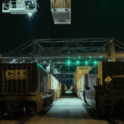 GE and Reuben Wu (of British rock band Ladytron) collaborated to bring freight logistics to life in a cool new video: 'Over 2 Million Containers, 2000 Routes'.