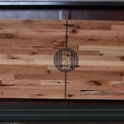 Cool video showing District Millworks make their catalog Shuffleboard table by hand!