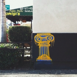 COLUMNZ, a Los Angeles based street artist