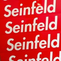 Stugazi Seinfeld Supreme-esque Stickers!