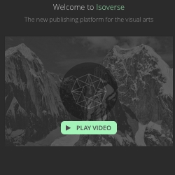 ISOVERSE is the new platform for the visual arts that easily build your professional online presence integrated with your workflow, via Dropbox.