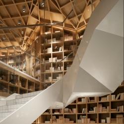 Hyundai Card Travel Library designed by Wonderwall Studio.