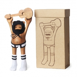 Brilliant amalgamation of toys and artwork from San Francisco based Blamo Toys.