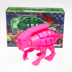 'Will You Be My Valentine?' Dinogrenade by Ron English. Limited edition of 100 pieces.