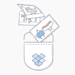 Beautifully executed video educating about the power of saving your files to Dropbox. Animation created by Buck in LA.