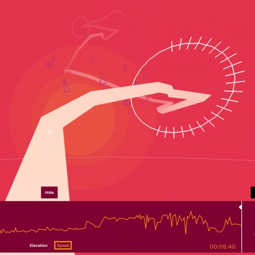 Cycle Tracks: Your Strava rides turned into music. Amplifon and Strava teamed up to make a audio and visual based on yours or pro ride data.