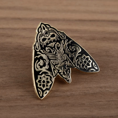 Morimoth Enamel Pin from Dead Zebra (Andrew Bell) - limited edition of 100pcs.
