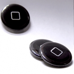 "Unconfessable Ideas ~ the iPhone ""home button"" ~ ""a small sign to give the welcome back to the visionary Apple CEO."""