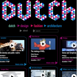 Fun videos of Dutch Profiles ~ from designers to artists and more!