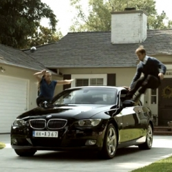 BMW Jump For Joy ~ you have to watch this latest video, because the twist at the end will make you gasp... then giggle. Perfect way to kick off Monday Morning.
