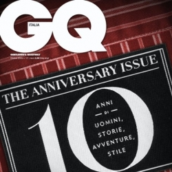 10 famous graphic designers & 10 printed covers to honor GQ Italia's 10th Anniversary issue. Contributing designers include Marian Bantjes, House Industries, Milton Glaser, Neville Brody...
