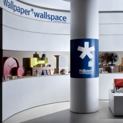 Wallpaper's Wallspace - In the Claudio Silvestrin & Giuliana Salmaso designed basement of la Rinascente, Milan's one and only Grande Magazzino or department store, Wallpaper* has set up shop.