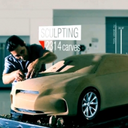 Gorgeous inspiring video of the Design Story of the Lexus LF-Ch concept car! From Calty Design Research!