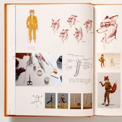 Making Fantastic Mr. Fox by Wes Anderson ~ looks like a stunning book! Published by Rizzoli