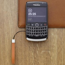 The Monocle x BlackBerry Bold 9700 handset is the first media collaboration for the BlackBerry brand.  Monocle magazine's creative team has designed 100 of the limited edition leather backed handsets, pre-loaded with Monocle's 25/25 travel guides.