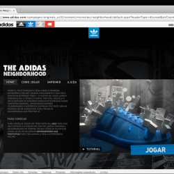 New adidas tennis shoes with augmented reality angle